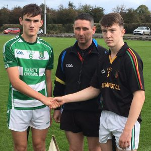 Dean Ryan Cup Hurling Semi-Final – Coláiste Cholmáin Fermoy 3-12 John The Baptist Community School 1-12 – Round-up