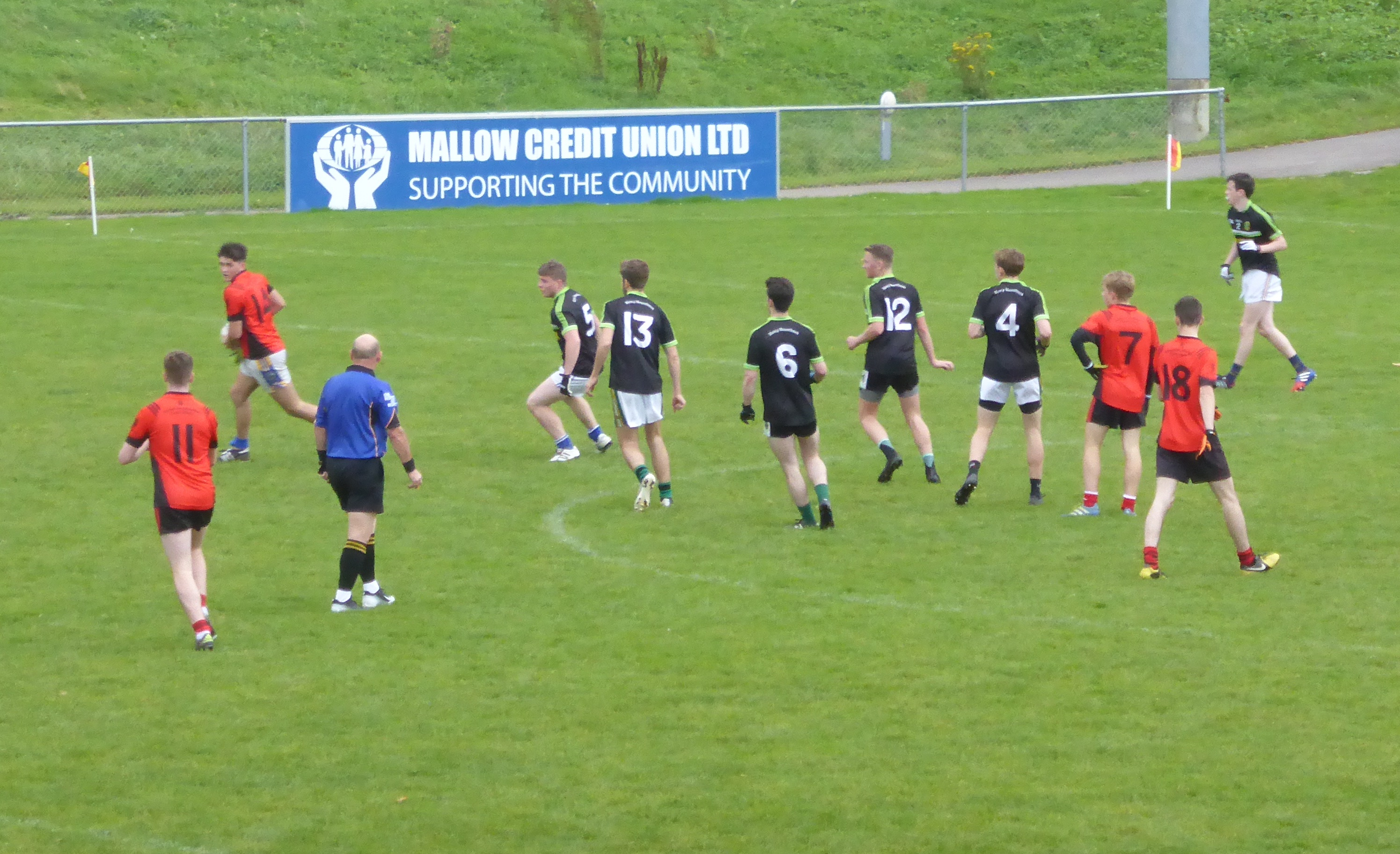 Corn Ui Mhuiri Football Quarter-Final Results