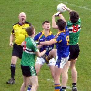 Corn Ui Mhuiri Football Semi-Final Replay – Colaiste Chriost Rí 1-14 Tralee CBS 2-11