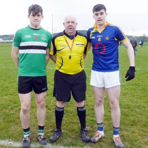 Corn Ui Mhuiri Football Semi-Final – Colaiste Chriost Rí 1-18 Tralee CBS 1-18