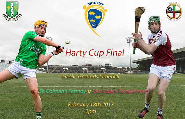 Live Streaming – Dr. Harty Cup Hurling Final – Our Lady's Templemore v St Colman's Fermoy – Match Preview