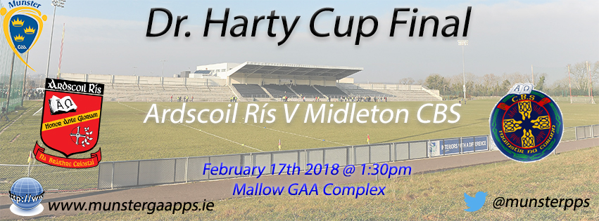 Dr. Harty Cup Hurling Final – Ardscoil Ris 3-18 Midleton CBS 2-10