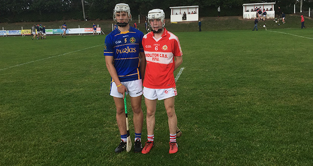 Dean Ryan Cup Quarter-Final – Thurles CBS 4-16 Midleton CBS 1-15 – Match Report