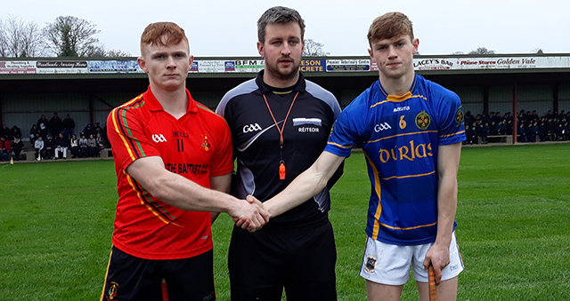Dr. Harty Cup Under 19 A Hurling Quarter-Final Replay – Thurles CBS v John the Baptist Hospital