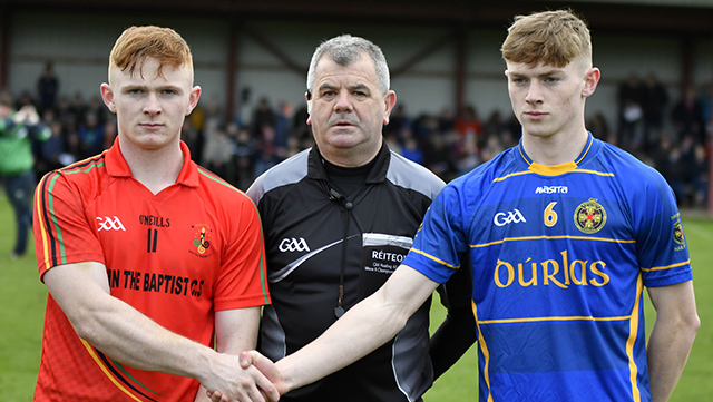Dr. Harty Cup Under 19 A Hurling Quarter-Final Replay – Thurles CBS 0-16 John the Baptist Hospital 0-11