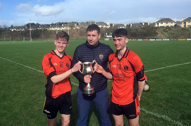 Corn Sheáin Uí Mhaolomhnaigh (19 D Football) Final – Boherbue Comprehensive School 7-8 Coláiste Ghobnatan Baile Mhic Íre 2-11 – Match Report