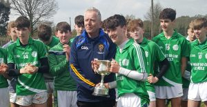 Munster GAA PPS Corn Chaoimhín Uí Mhearáin (Under 15 D Hurling) Final 2018/2019 – Scoil Mhuire & Ide Newcastle West 3-10 Ballingarry Presentation Secondary 3-4